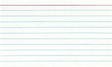 5x8 Note Card Template by Index Card
