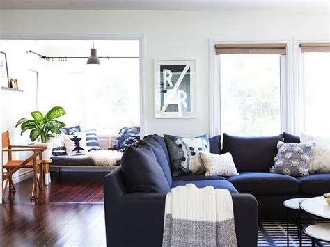 proof     navy blue sofa   life navy