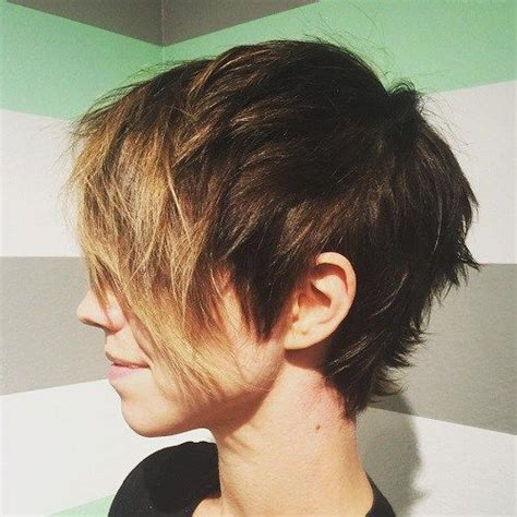 extremely short in back with bangs 17 best ideas about short choppy haircuts on pinterest