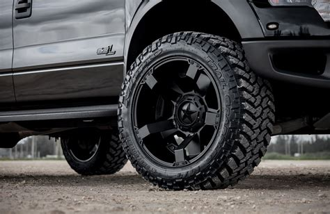 ford car tyres this ford svt raptor with road xd wheels and tires is