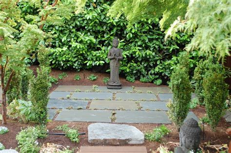 Great Garden Statues Decorating Ideas Images in Landscape