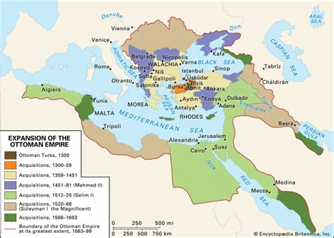 The Ottoman Empire And Early Modern Europe Ottoman Empire Facts History Map Britannica