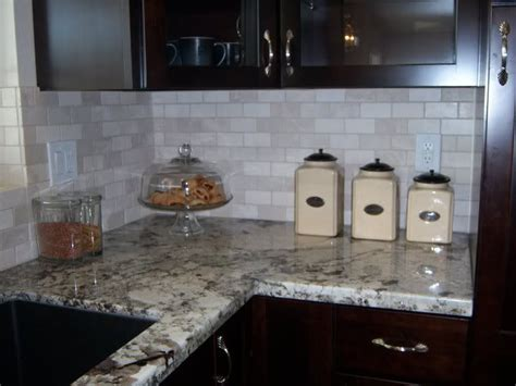 tumbled marble kitchen backsplash crema marfil tumbled marble backsplash photo this photo