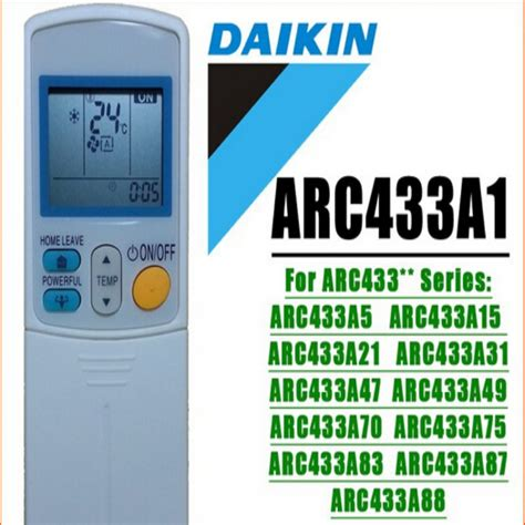 Ac Daikin Electronic Solution 3pcs generic daikin air conditioning remote