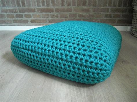 t shirt yarn cushion pattern crochet square floor cushion lvly