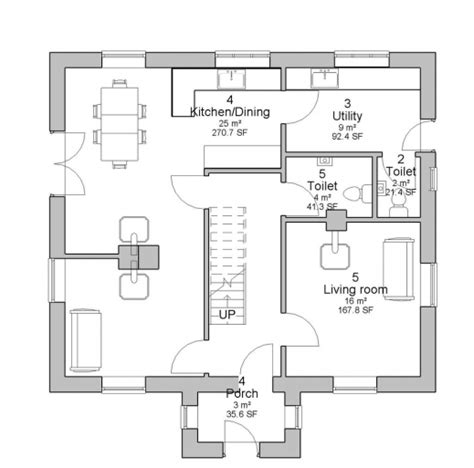 plan house ground floor house floor plans