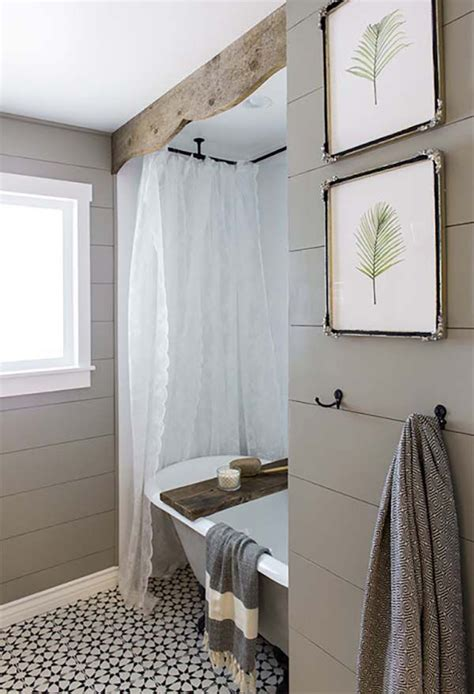 rustic bathroom colors 20 cozy and beautiful farmhouse bathroom ideas home