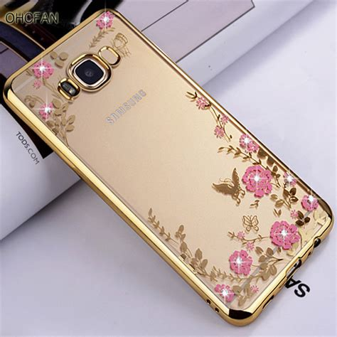 Softcase Flower List Samsung Galaxy S8 Plus Ring Stand aliexpress buy luxury gold soft tpu back coque cover for samsung galaxy s8 plus