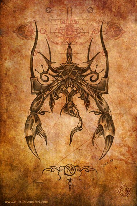 scorpion tattoo by bjorkmario on deviantart scorpio by chib on deviantart