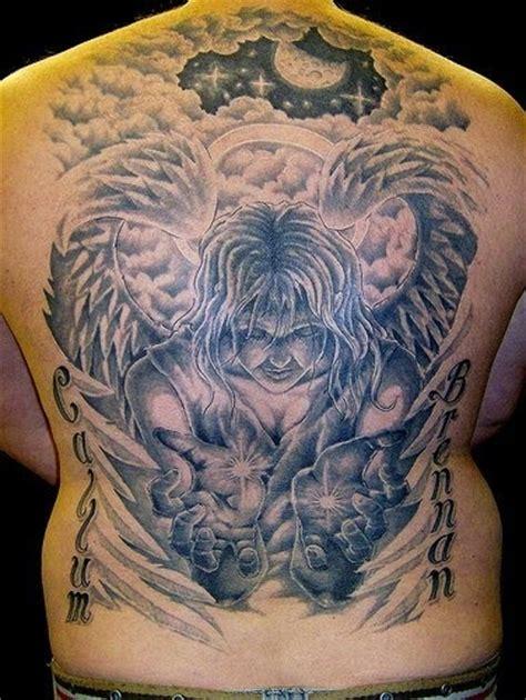 arti tato naga angle tattoos gambar seni tattoo
