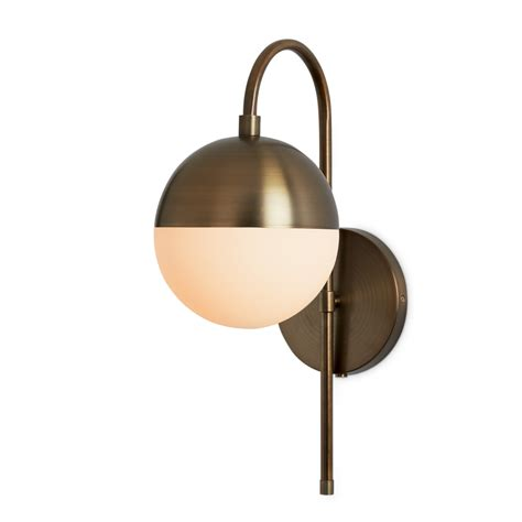 lights wall lights powell wall sconce with hooded