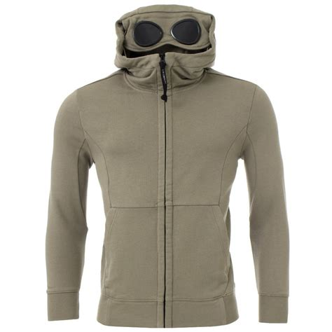 Hoodie Abu Co One 1 zip through goggle hoodie c p company eqvvs co uk