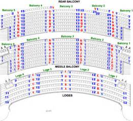 Bank Of America Floor Plan Bank Of America Theater Seating Balcony View Ask Home Design