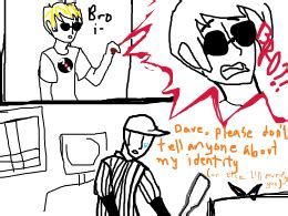 doodle or die ideas bro strider is officially the batter