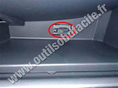 lada scanner obd2 connector location in lada largus 2011