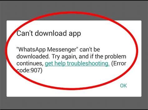Play Store Error 907 How To Fix Can T App Error Code 907 In