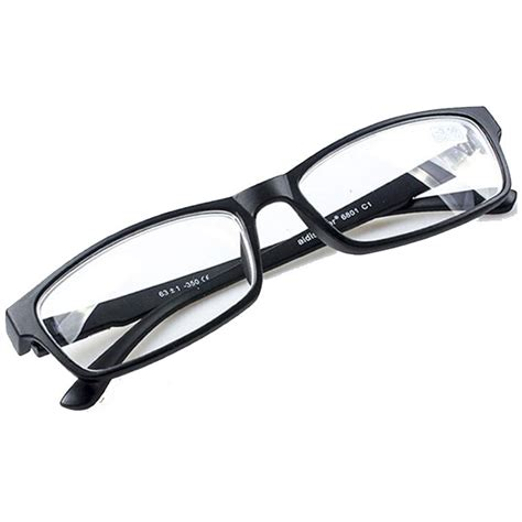 Kacamata Black kacamata rabun jauh lensa minus 3 5 black