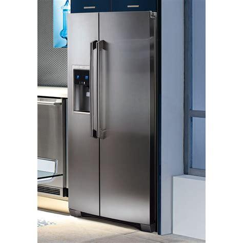 Freezer Electrolux ew23cs75qs electrolux side by side refrigerator
