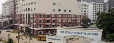 Oxford Mba Timetable by The Oxford College Of Engineering Bangalore Mba Bangalore