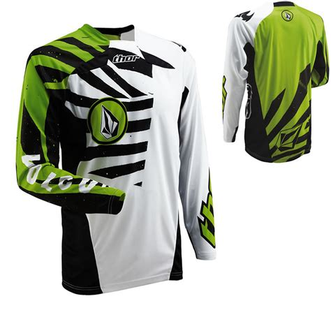 volcom motocross gear thor core s13 volcom motocross jersey clearance