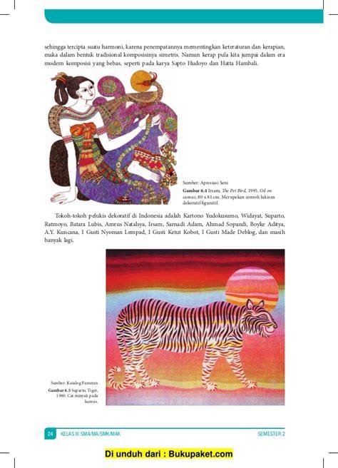 Seni Budaya Kelas Xi Sma Semester 2 Kemendikbud buku siswa kelas 11 seni budaya semester 1 dan 2 kurikulum k13
