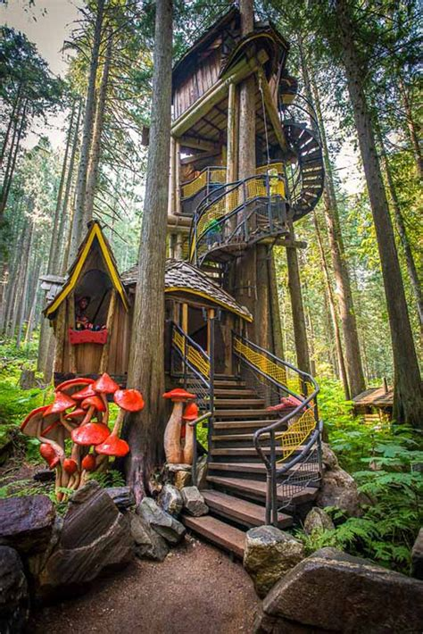 enchanted forest treehouse 18 of the world s most