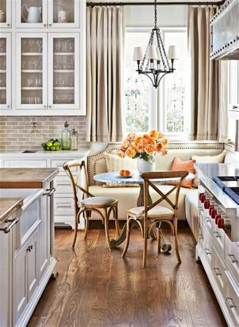 kitchen banquette ideas 22 pedestal tables for dining or entry room messagenote