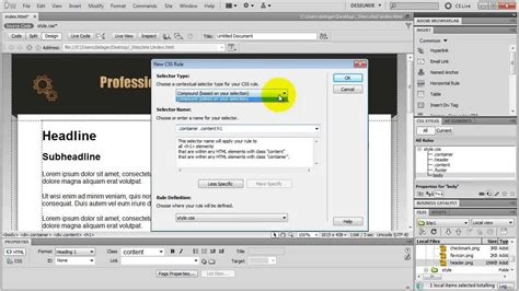 tutorial photoshop dreamweaver website how to make a website in dreamweaver amazing tutorial