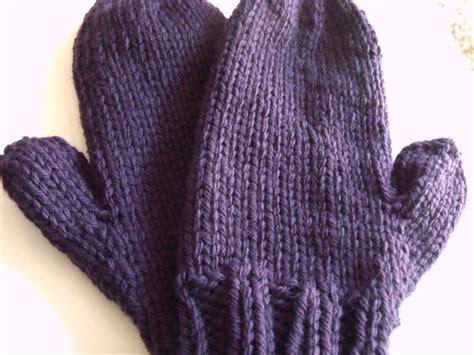 knitting pattern chunky yarn mittens free chunky mitten pattern tiny dino studios