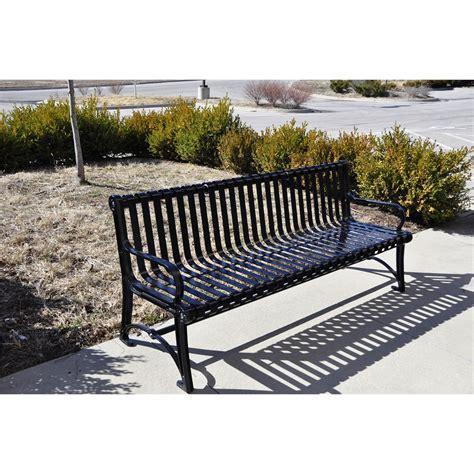 6 foot garden bench 6 ft black bair bench