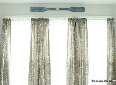 coastal curtains coastal nautical bathroom makeover with diy curtains wall