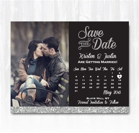 calendar save the date template save the date calendar template best 25 silver save the