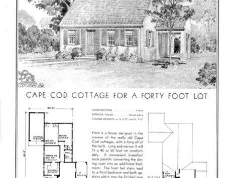 1950s cape cod house plans 1950s cape cod style house 1940s cape cod house floor plans floor plans cottage