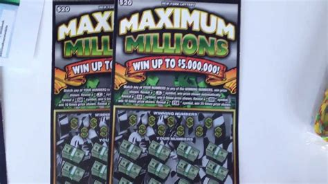 Free Instant Win Scratch Tickets - your chance to win a million dollars on instant lottery
