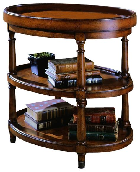 hooker accent table hooker furniture seven seas oval accent table
