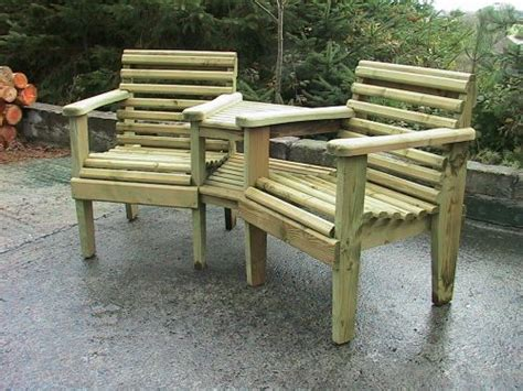 woodland corner companion garden bench sustainable furniture