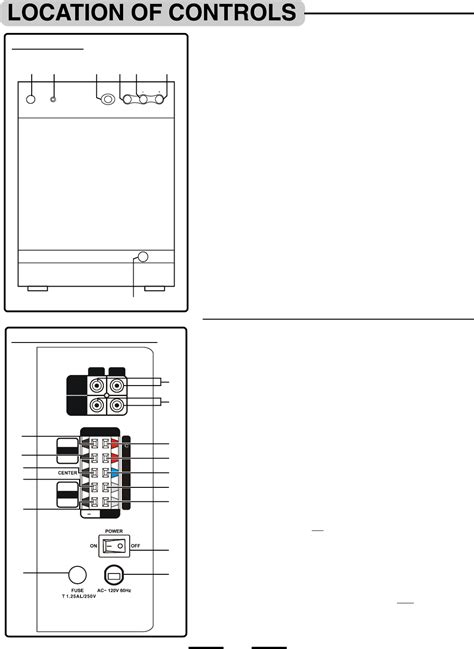 page 5 of lenoxx electronics home theater system ht3917