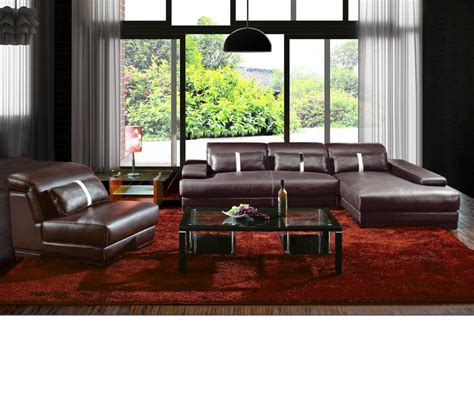dreamfurniture boston contemporary leather sectional
