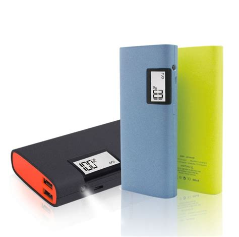 Powerbank 1 Cell 9800 Mah Indikator Led capacity 13000mah mobile phone portable power bank