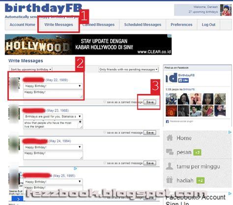 cara membuat ucapan selamat ulang tahun di facebook cara menjadwal ucapan ulang tahun di facebook secara otomatis