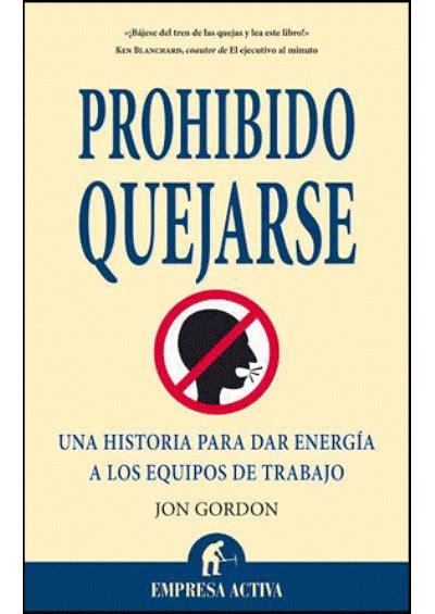 libro el libro prohibido de prohibido quejarse