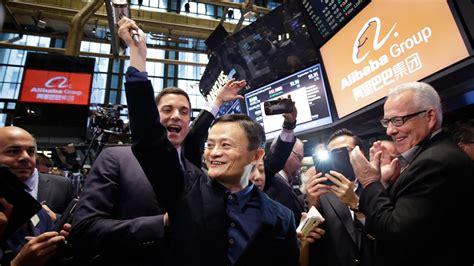 alibaba nyc alibaba stock soars as investors seek way to tap into