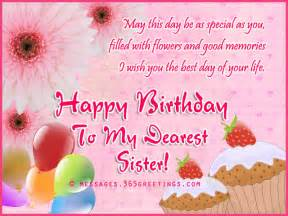 Birthday wishes for sister messages greetings and wishes