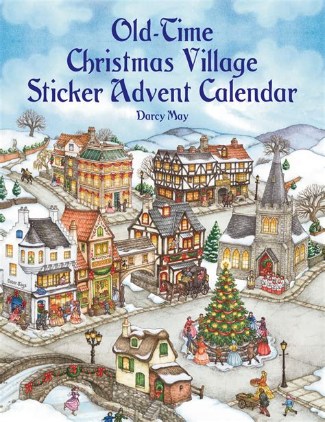 printable advent calendar village christmas printables and activity pages