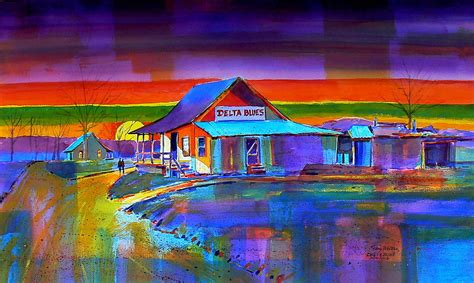 painting delta delta blues by gary walters
