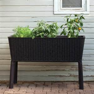 keter 212157 easy grow elevated garden bed atg stores