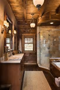 cabin bathrooms ideas pin by kristen queen on for when we build pinterest