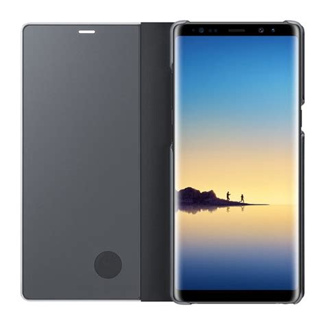 Samsung Clear View Standing Cover Galaxy Note 8 samsung galaxy note 8 clear view standing cover سایمان