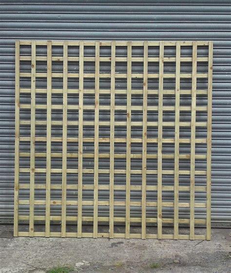 Square Trellis Fencing 4 X Large Square Garden Trellis Fence Panel 180 X 180 Cm 6