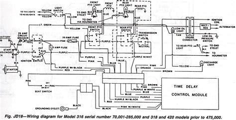 deere 318 wiring diagram autoctono me